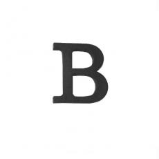 litery z tworzywa