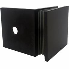 uchwyt ściana-szkło 90° GC-90B1 ORB