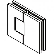 zawiasy do drzwi szklanych <br /> SH180-G