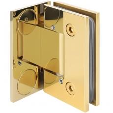 zawias do drzwi szklanych <br /> SHT-B3 AD BP <br />z zaślepkami i regulacją kąta